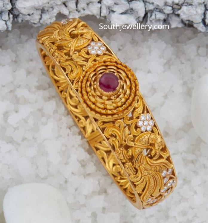gold kada designs 22 k