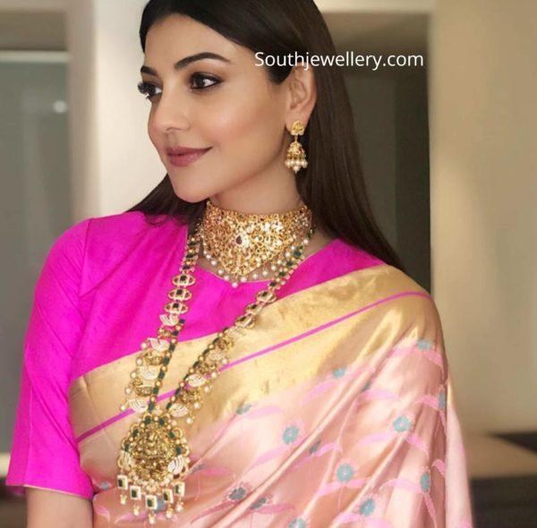 kajal aggarwal in khazana gold jewellery (1)