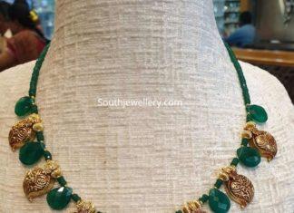light weight mango necklace