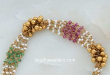 pearl and beads bracelet