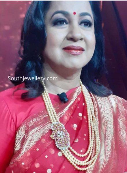 radhikaa sarathkumar in pearl haram kodeeswari
