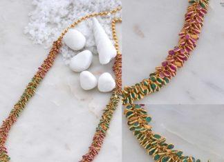 ruby emerald chain