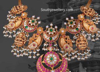 temple jewellery necklace designs 2020