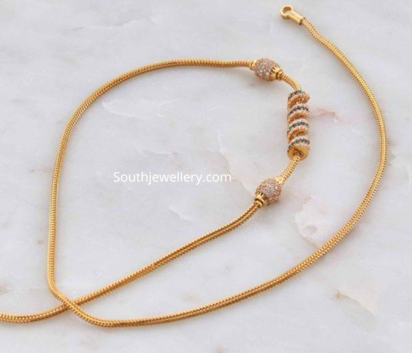 thali chain designs (1)