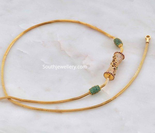 thali chain designs (2)