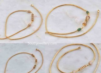 thali chain designs
