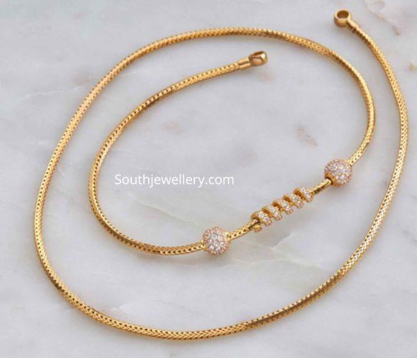 thali chain designs (4)