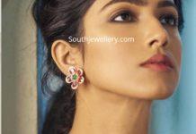 floral sapphire diamond necklace (1)