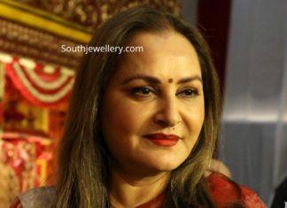 jayaprada in ruby diamond necklace