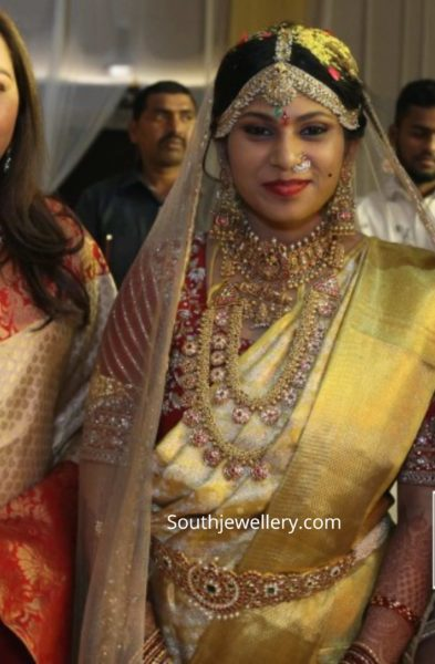 kodi rama krishna daughter wedding jewellery (2)