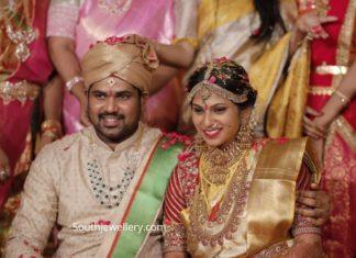 kodi rama krishna daughter wedding jewellery