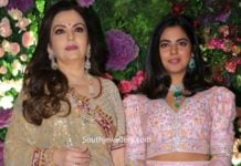 nita ambani in diamond jewellery