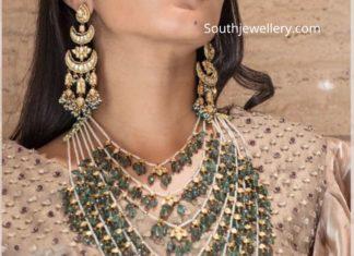 pearl emerald satlada haar mangatrai