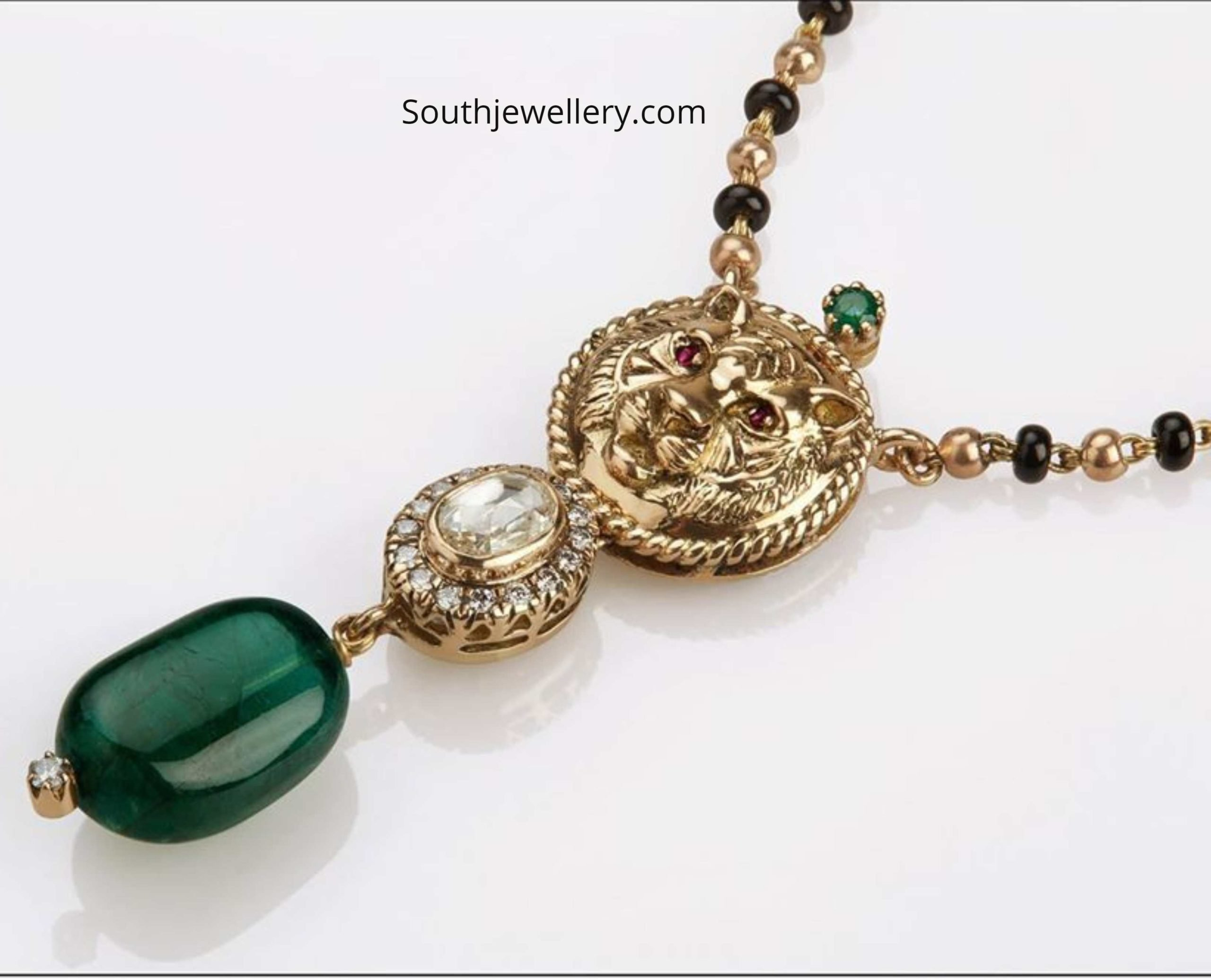 Gold Long Mangalsutra Chain Designs With Price