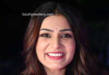 samantha akkineni in ruby necklace (1)
