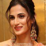 shilpa reddy in kundan earrings