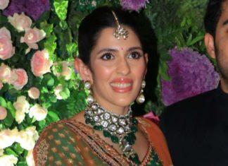 shloka ambani in polki jewellery at armaan jain wedding (1)