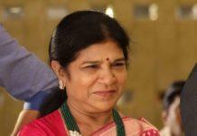 surekha konidela in emerald beads necklace