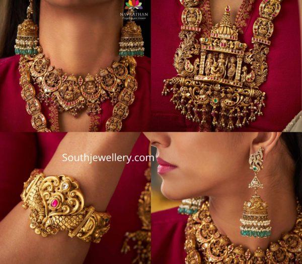 temple jewellery set for weddings (2)