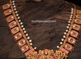 antique gold necklace designs (1)