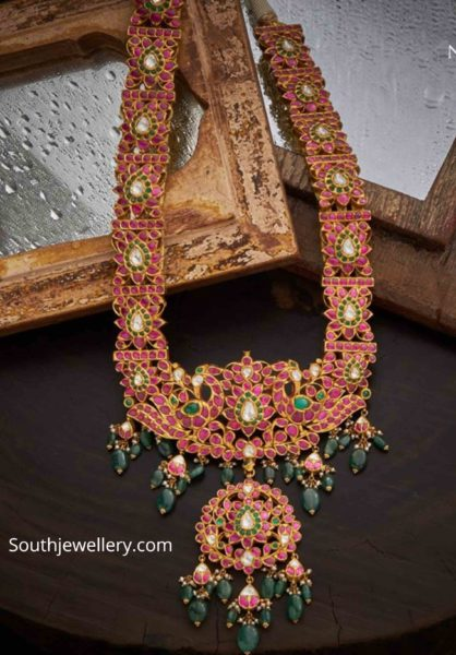 antique gold ruby haram