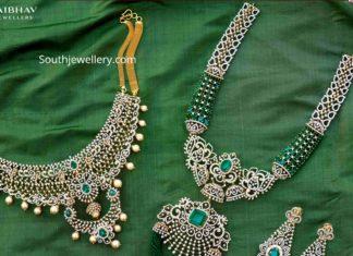 diamond necklace set vaibhav (1)