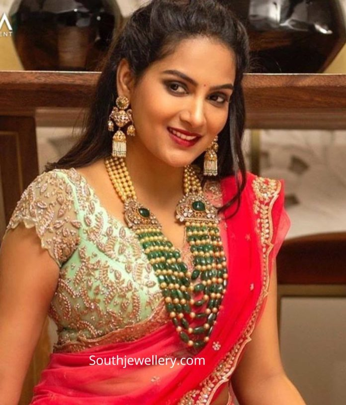 himaja in mangatrai jewellery