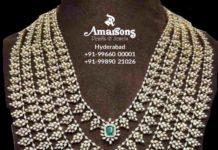 layered emerald diamond haram