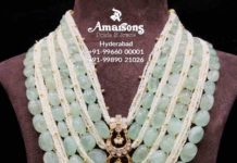 layered emerald pearl haram