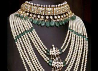 layered pearl satlada necklace by mangatari pearls gems jewels