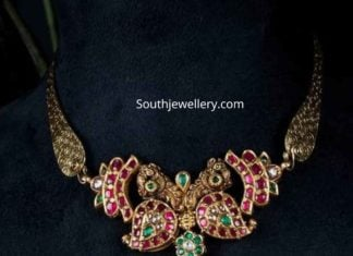 light weight gold necklace designs