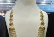 rice pearls necklace