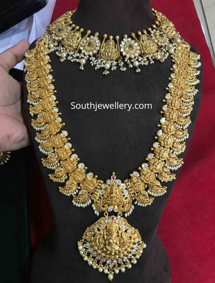 temple jewellery designs 2020