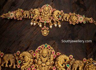 traditional lakshmi bajuband armlet
