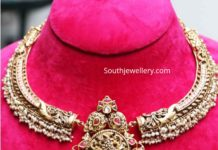 antique gold necklace designs (2)