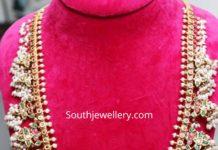 guttapusalu haram with radha krishna pendant