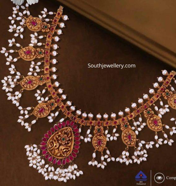 guttapusalu necklace challani