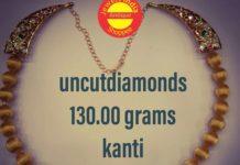 kanti gold balls necklace