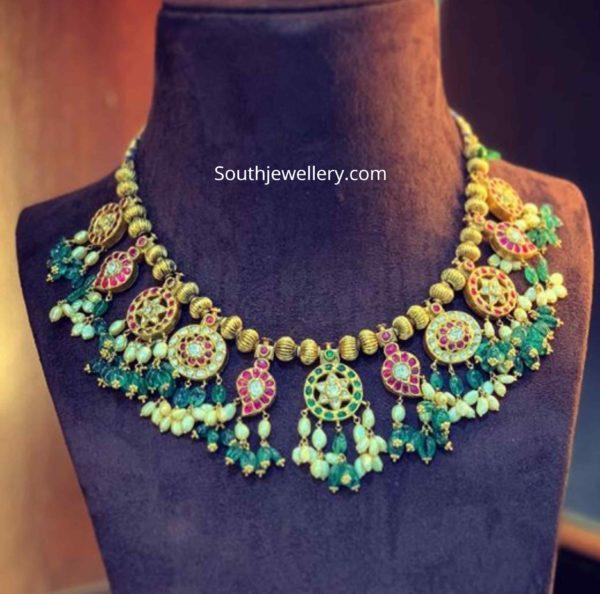 kundan polki necklace