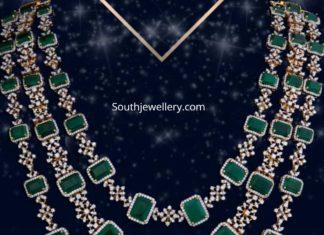 layered diamond emerald haram