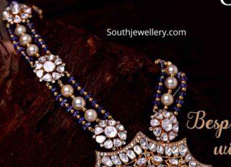 polki diamond jadau necklace