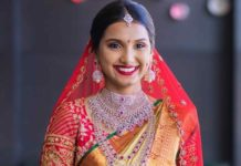 south indian bride parnicaa diamond jewellery