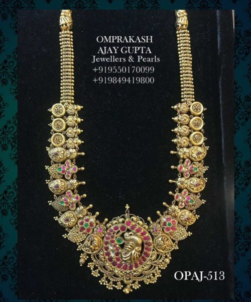 traditional gold necklace designs