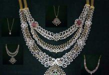 7 in 1 detachable diamond haram