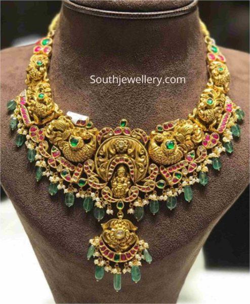 kundan necklace designs 2020