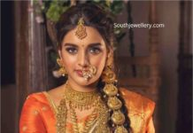 nidhhi agerwal in manepally jewellery ad