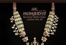 pearl and uncut diamond necklace