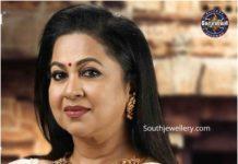 radhika sarathkumar jewellery colors kodeeswarudu