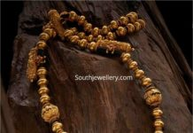 traditional gold balls necklace (1)