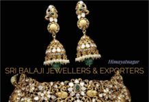 uncut diamond choker and jhumkas